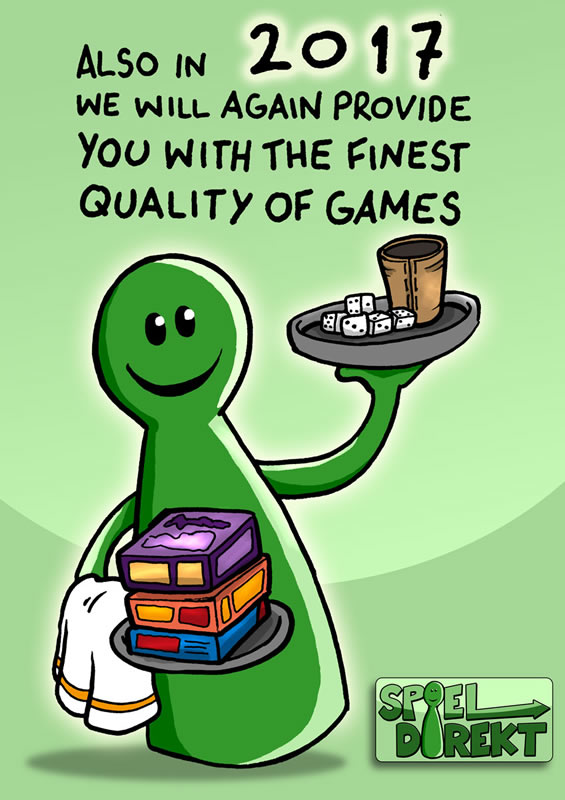 Auch 2017 servieren wir Ihnen wieder feinste Spiele