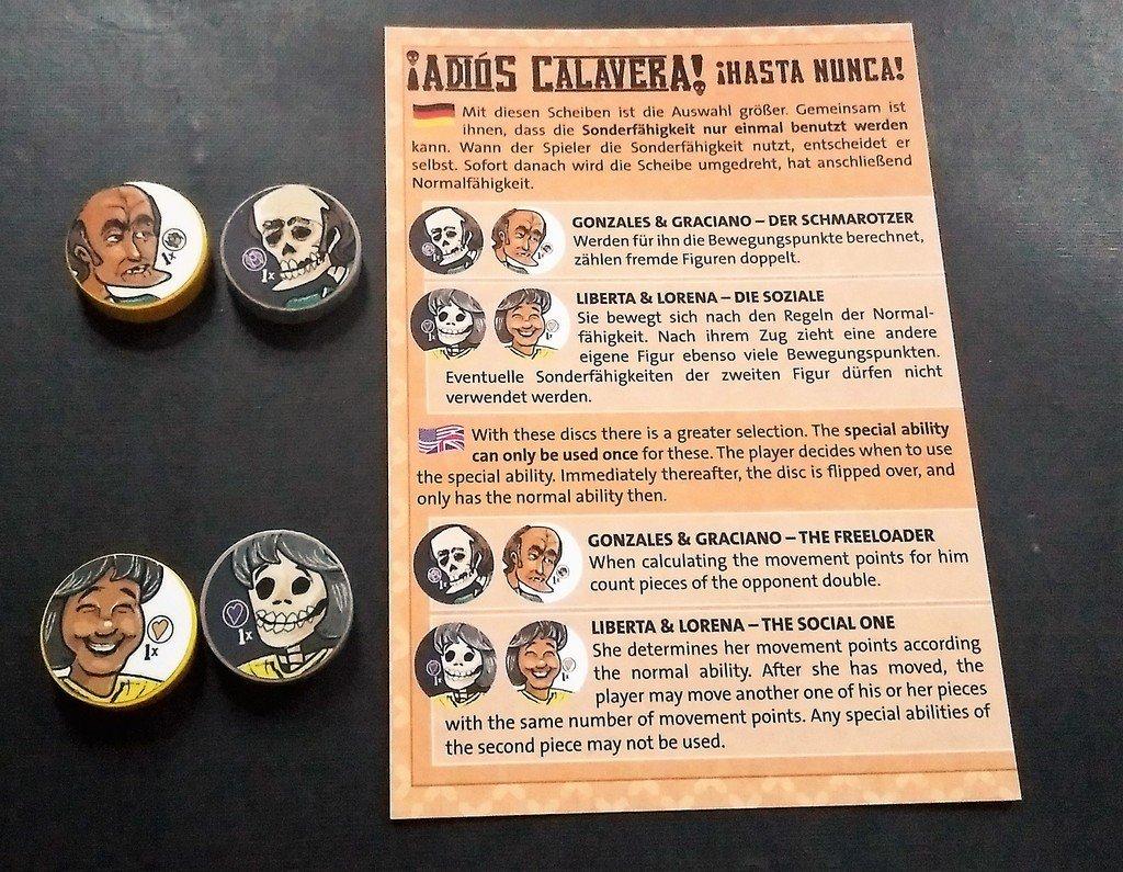 ¡ADIOS CALAVERA!: CHARACTER EXPANSION