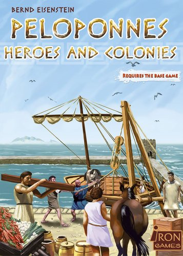 PELOPONNES HEROES AND COLONIES